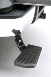 AMP RESEARCH - AMP RESEARCH  BedStep Retractable Bumper Step (1999-2007)  Excludes Flareside