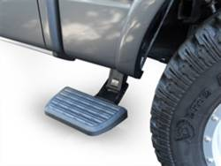 AMP RESEARCH - AMP RESEARCH BedStep2 Retractable Truck Bed Side Step, Black, Mega Cab (2010-2013)