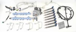 Fuel System - CP4-Catastrophic Failure Kit - Ford/Powerstroke - Ford Powerstroke 6.7L Catastrophic CP4 Failure Kit (2015-2016)