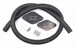 "2011-2016 LML VIN Code 8 - 3"" Y-Bridge/EGR/PCV Reroute Kits - Lincoln Diesel Specialities - LDS PCV Reroute Kit with Resonator Plug (2012-2016)"