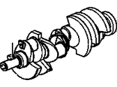 Engine - Crankshafts-Camshafts-Harmonic Balancer - GM - GM OEM Duramax Stock Crankshaft (2001-2005)