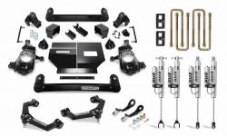 "Suspension - Springs/Traction Bars/Air Kits - Cognito MotorSports - Cognito Motorsports 4"" Performance Lift Kit  with FOX PS 2.0 IFP Shocks for Duramax (2020)"