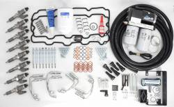 Updated Stock Injectors - Remanufactured - Lincoln Diesel Specialities - Complete LB7 Injector Install Kit with Lift Pump