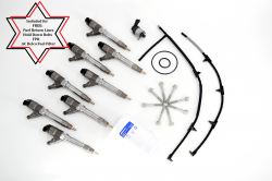 BOSCH - 2007.5-2010 OEM Genuine BOSCH® New LMM Fuel Injector Kit **NO CORE CHARGE**