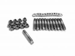 Engine - Bolts, Studs, Fasteners - Fleece - Fleece Performance Exhaust Manifold Stud Kit - 7mm External Hex Head (1994-2019)