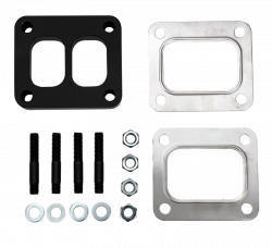 "Turbo - Accessories & Parts - Wehrli Custom Fabrication - Wehrli Custom Fab 1"" T4 Spacer Plate Kit"