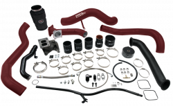 Wehrli Custom Fabrication - Wehrli Custom Fab 2001-2004 LB7 Duramax S300 Single Turbo Install Kit - Image 2
