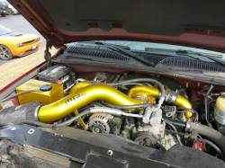 Wehrli Custom Fabrication - Wehrli Custom Fab 2001-2004 LB7 Duramax S300 Single Turbo Install Kit - Image 6