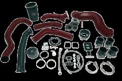 Wehrli Custom Fabrication - Wehrli Custom Fab 2001-2004 LB7 Duramax S400 Single Turbo Install Kit