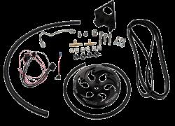 Wehrli Custom Fabrication - Wehrli Custom Fab 2001-2004 LB7 DuramaxTwin CP3 Kit Black Anodized Pulley