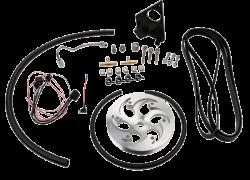 Wehrli Custom Fabrication - Wehrli Custom Fab 2001-2004 LB7 DuramaxTwin CP3 Kit Raw/Custom Pulley