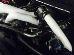Wehrli Custom Fabrication - Wehrli Custom Fab 2001-2016 Duramax S300 Twisted Single Turbo Install Kit - Image 3