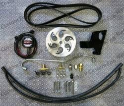 Fuel System - Aftermarket - Performance CP3 Pumps - Wehrli Custom Fabrication - Wehrli Custom Fab 2004.5-2005 LLY DuramaxTwin CP3 Kit Raw/Custom Pulley