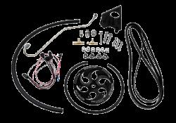 Wehrli Custom Fab 2006-2010 LBZ/LMM DuramaxTwin CP3 Kit Black Anodized Pulley