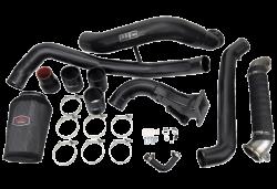 Intercooler & Piping - Intercooler & Piping - Wehrli Custom Fabrication - Wehrli Custom Fab 2011-2016 LML Duramax High Flow Intake Bundle Kit(V-Band Flange Down Pipe)