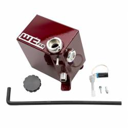 Turbo - Accessories & Parts - Wehrli Custom Fabrication - Wehrli Custom Fab 2017-2019 L5P Duramax OEM Placement Coolant Tank Kit