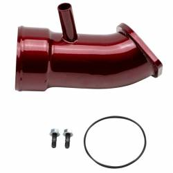 "Turbo - Accessories & Parts - Wehrli Custom Fabrication - Wehrli Custom Fab 2017-2019L5P Duramax 3.5"" Turbo Intake Horn"
