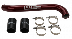 Cooling System - Hoses, Hose Kits, Pipes & Clamps - Wehrli Custom Fabrication - Wehrli Custom Fab 2017-2019L5P Duramax Upper Coolant Pipe