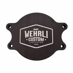 Fuel System - Aftermarket - Fuel System Components - Wehrli Custom Fabrication - Wehrli Custom Fab Duramax CP3 Block Off Plate