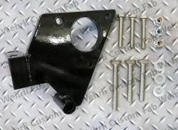 Fuel System - Aftermarket - Fuel System Components - Wehrli Custom Fabrication - Wehrli Custom Fab Duramax Twin CP3 Mount Bracket