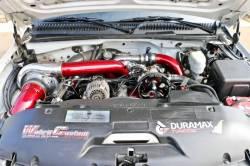 Fuel System - Aftermarket - Fuel System Components - Wehrli Custom Fabrication - Wehrli Custom Fab Duramax Twin CP3 Mount Bracket for AC Location (Deletes AC Compressor)