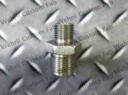 Fuel System - Aftermarket - Fuel System Components - Wehrli Custom Fabrication - Wehrli Custom Fab High Pressure Rail Fitting for LB7, LLY, LML