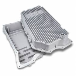 Transmissions - Pans, Shafts, Housings - PPE - PPE Dodge/Cummins Transmission Pan 68RFE Flat Bottom (Raw) (2007.5-2021)